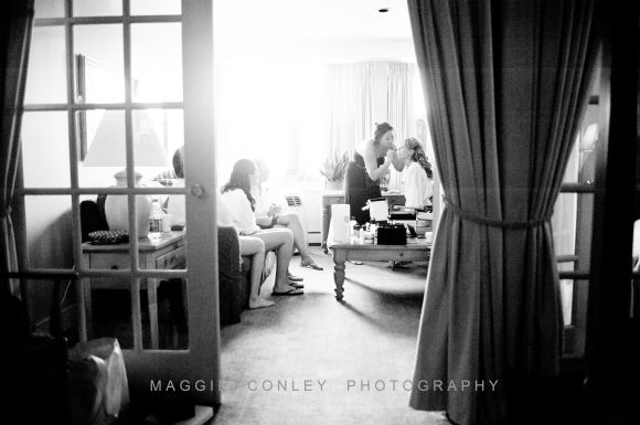 Getting Ready 1 Sarah & Matt CT Shoreline Photographer Mystic Seaport