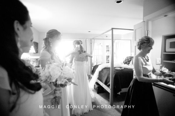Getting Ready 27 Sarah & Matt CT Shoreline Photographer Mystic Seaport